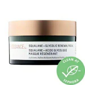 BIOSSANCE Squalane+Glycolic Renewal Mask